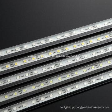 Luz LED de tira rígida SMD 5060 RGB à prova d'água