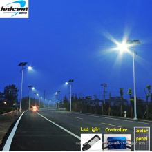 Luz de rua solar integrada de 90W com painel solar da bateria