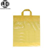 Melhor preço por atacado PE plástico saco de compras para embalagem de sapatos ou roupas