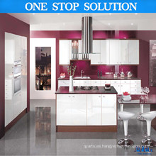2016 Gabinete de cocina moderno de la nueva llegada (color rojo)