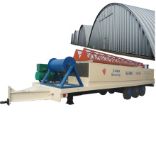 SX-ABM-1200-800 hydraulic long span zinc-plate steel coil market/marketplace roof forming machine