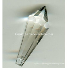 O candelabro de cristal por atacado chinês parte as peças de vidro do candelabro