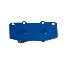 Supply contemporary  for Toyota D1567 Semi-metal brake pad Front Rear
