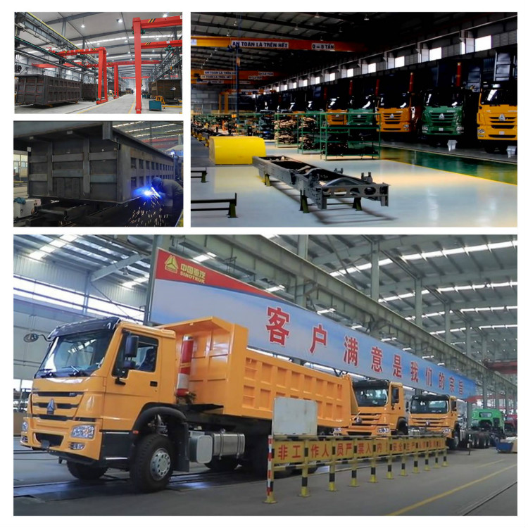 howo truck production line