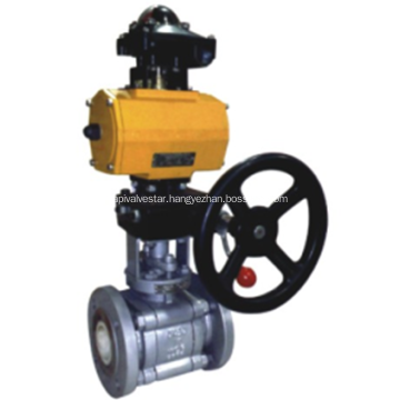 Pneumatic- Manual Ceramic  Ball valve