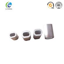 Fermeture en aluminium ovale en sertis en aluminium