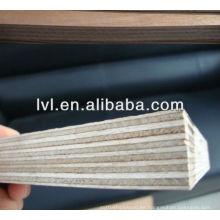 Panel de encofrado de madera negro / marrón