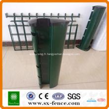 poteaux de clôture en PVC colorés