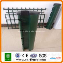 colored PVC fence posts