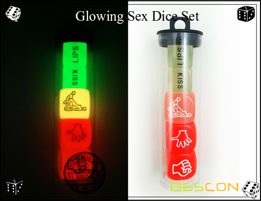 Glowing Sex Dice Set-3
