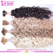 """10""""-28"""" Remy Human Flat Tip Hair Extension Pre Bonded Hair Extensions"""