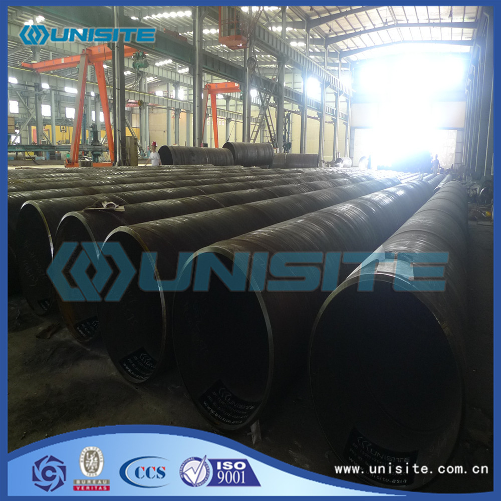 Spiral Welded Round Steel Pipe