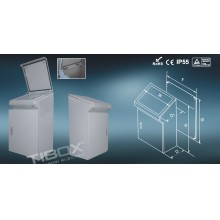 Waterproof Tp Metal Control Desk,