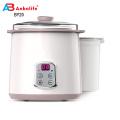 Tela LED atualizada popular da Anbolife Mini-casa com frutas frescas Máquina de fazer iogurte grego / Máquina de fazer sobremesas de iogurte com potes de vidro