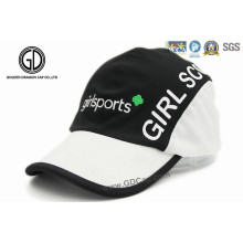 100% Polyester Microfiber Sport Racing Cap with Embroidery