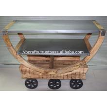 Industrieller Loft Bar Trolley