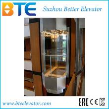 Ce 1250kg Bon Vue Ascenseur Panoramique avec Pièce de Machine