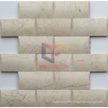 Bevel Edge Luxury Natural Marble Mosaic (CFS1055)