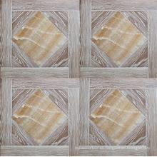 Piso de parquet de muebles de decoración de roble lavado blanco