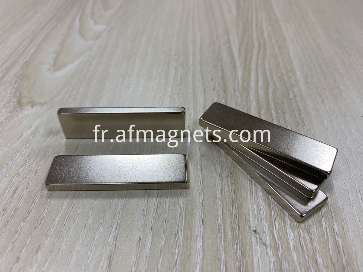 2 Inch Long Thin Plate Neodymium Magnets