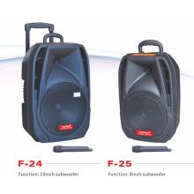 10-дюймовый сабвуфер Профессиональный динамик с микрофоном F24