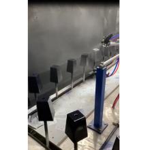 machine de peinture par pulvérisation automatique de pieds de canapé natuzzi