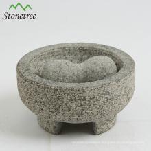 Granite Pestle and Mortar Food Milling Molcajete