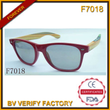 Hot Sale Sunglasses with Wood Frame (F7018)