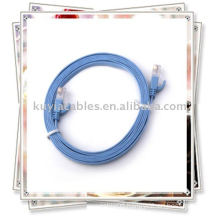 Blue Cat6 cable with High Quality,Flexible, Durable, Flame-Resistant