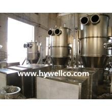 Granulador seco fluidizado de medicamentos veterinarios