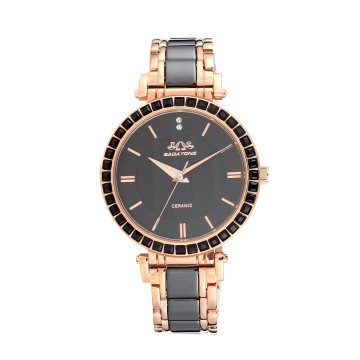 OEM de aço inoxidável de venda quente do relógio de quartzo de Badatong 2017