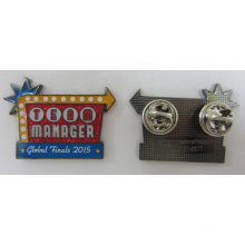High Quality Metal Pin Badge for Global Finals (badge-194)