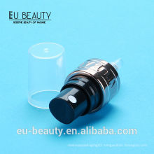 Best quality 20/410 cosmetic sprayer with logo embossed aluminum collar