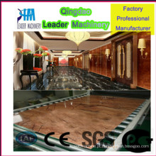 Máquina de produção de placa de mármore artificial de PVC, máquina de placa de plástico