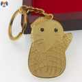 Promotional Gift Customized Metal Enamel Pants Keychain