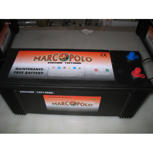 Batteries de voiture 12V 120Ah MF DIN