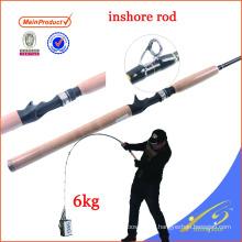 ISR004 weihai equipamento de pesca personalizado haste de pesca haste de fundição costeira