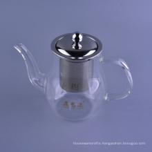 Wholesale Borosilicate Glass Tea Pots Set with Lid