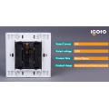 Igoto British Standard D2091 Elektrischer Druckknopf Türklingel Wandschalter