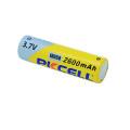 bateria recarregável do lítio 2600mah da bateria do li-íon do pkcell 18650 3.7v
