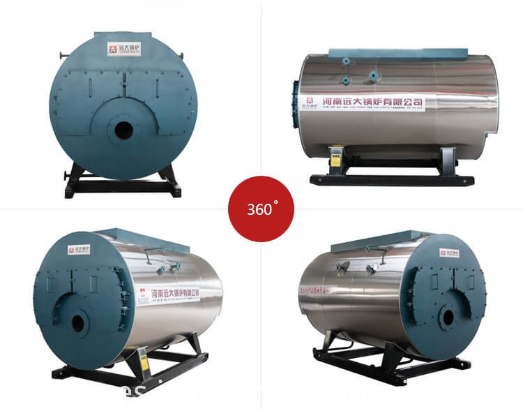 Saturated Steam Output Gas Oil Fire Tube Boiler