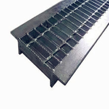 Perlindungan Trench Steel Grating Angle Sided