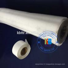 Le papier de cuir d'unité centrale emboutissant l'aluminium chaud d'estampillage noir blanc de 25mm * 100m