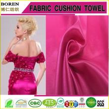 Женская мода одежда атласная ткань женщин вечернее платье