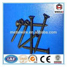 carbon steel black flat head Drywall Screws