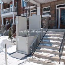 1-8м Электрический гидравлический лестничный подъемник для инвалидов