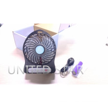 2015 Recarregável Recarregável USB Bateria De Lítio Mini Protable Fan
