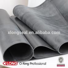 Top quality black auto anti-slip rubber sheet