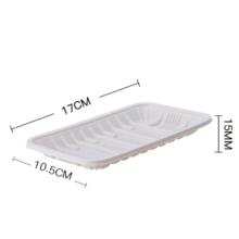 Disposable biodegradable cornstarch tray Biodegradable Biodegradable meat tray