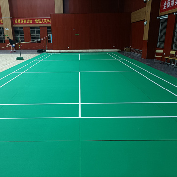 Indoor PVC Badminton Court Sportboden